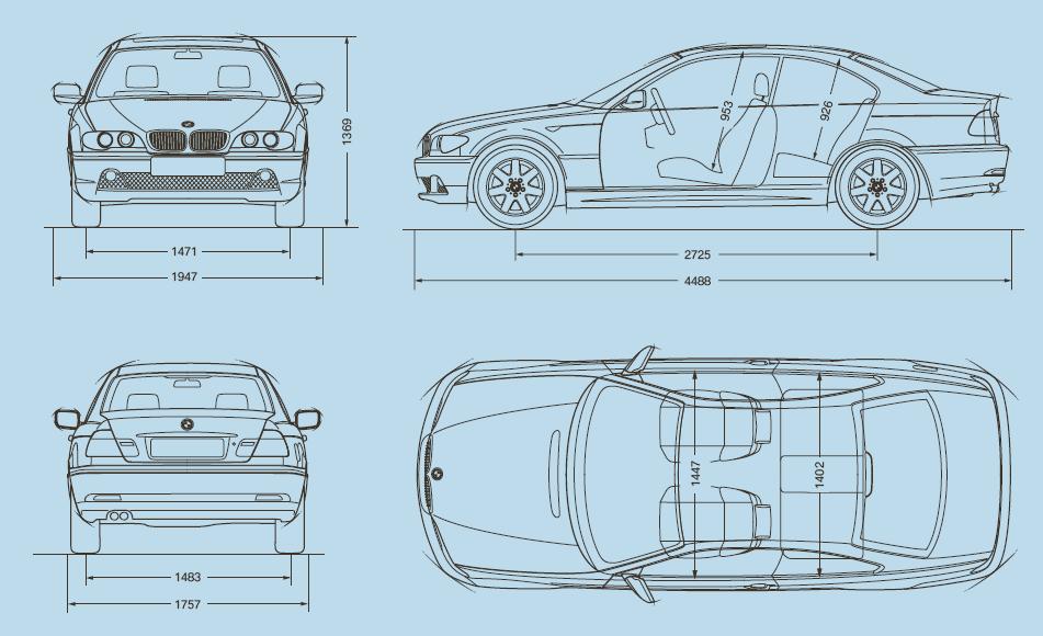 Обзор характеристик автомобилей BMW
