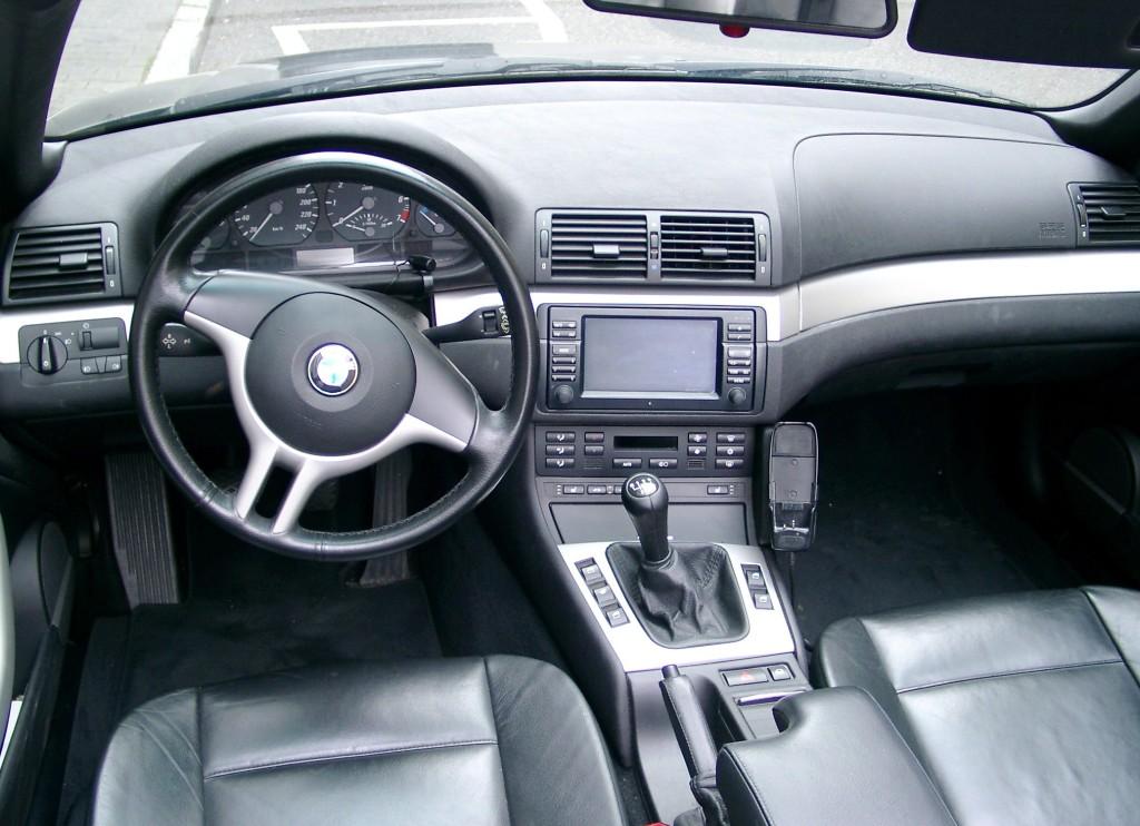 как установить din 2 на BMW e46