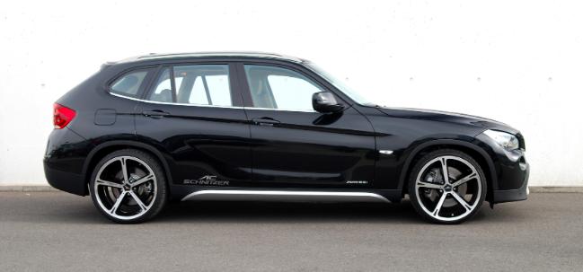 Тест драйв автомобиля BMW X1