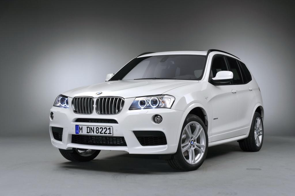 Внешний вид BMW X3