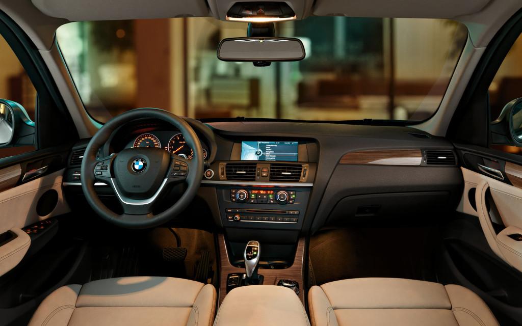 Интерьер и дизайн BMW X3