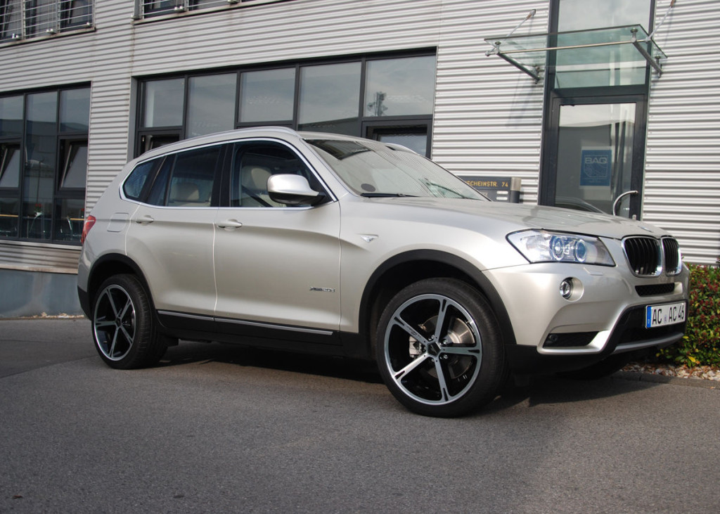 Технические характеристики BMW X3