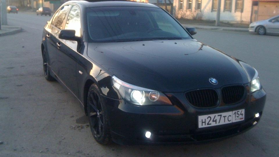 как отключить свет на BMW e60