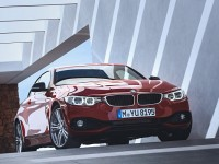 red bmw 4 series coupe