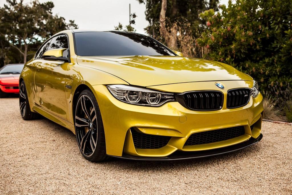 Золотая BMW M4