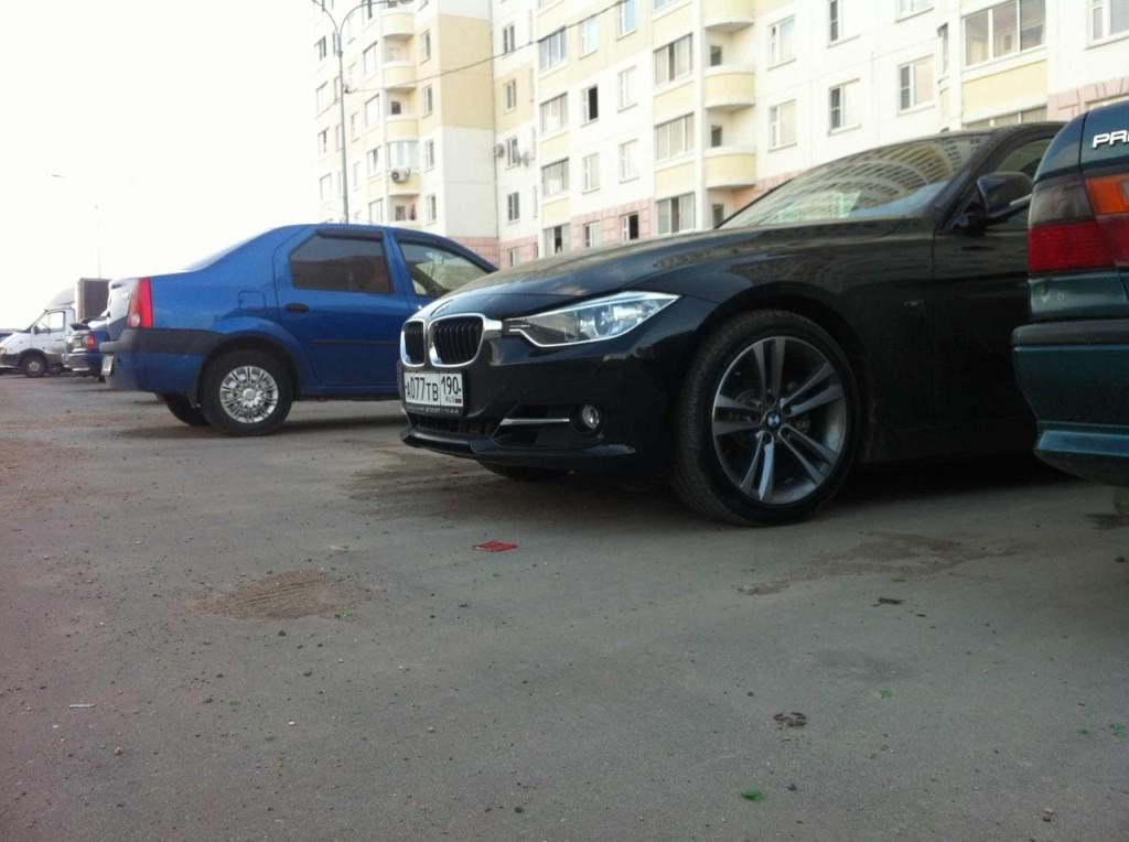 BMW F30 3 серии 328 отзыв